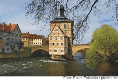 Das alte Rathaus in Bamberg