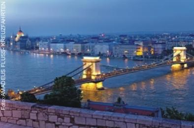Flusskreuzfahrt bis Budapest