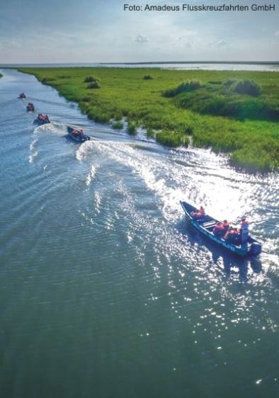 Delta-Safari durch das Naturreservat