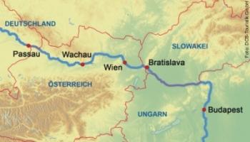 Donaukreuzfahrt Silvester 2018/19
