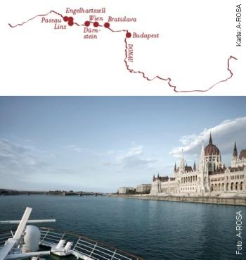 Donaukreuzfahrt Silvester