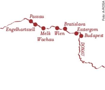 Donaukreuzfahrt Klassiker ab/an Engelhartszell