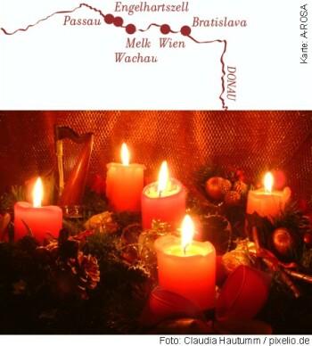 Weihnachtskreuzfahrt Donau mit A-ROSA RIVA