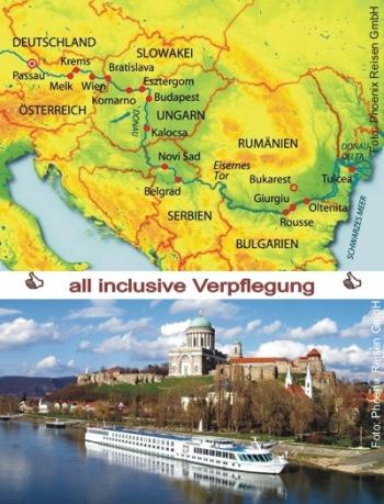 Bezaubernde Donau auf der MS Prinzessin Isabella