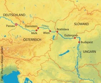 17 Tage Donaukreuzfahrt MS Anesha