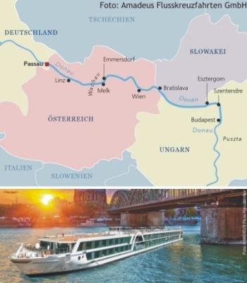 Die Donau mit der MS Amadeus Imperial entdecken