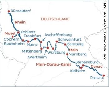 Von Düsseldorf nach Passau mit der nickoVISION