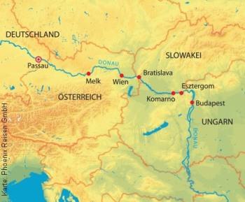 Vorweihnachtliche Kreuzfahrt auf der Donau mit der MS A-Silver