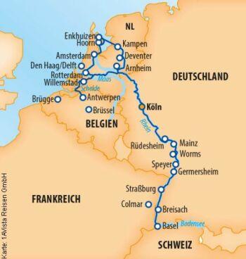 MS Vista Sky - Sonderreise von Köln nach Passau