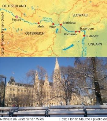 Von Passau nach Budapest mit der MS Ariana