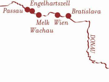 Kurz-Kreuzfahrt Donau mit Wien und Wachau
